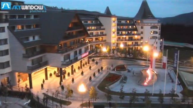 Kamera internetowa z widokiem na hotel go biewski w for Appart hotel karlsruhe