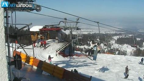 Górna stacja wyciągu na Kotelnicy - Białka Tatrzańska