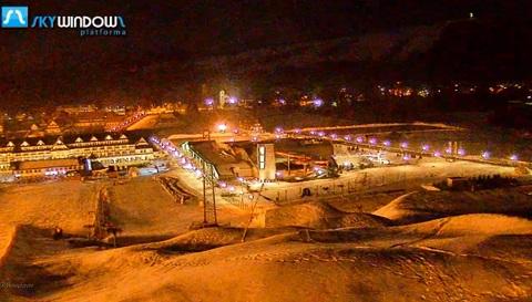 Panorama miasta - Białka Tatrzańska