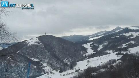 Widok z Palenicy - Szczawnica