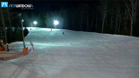 Stok narciarski - Kasina Wielka