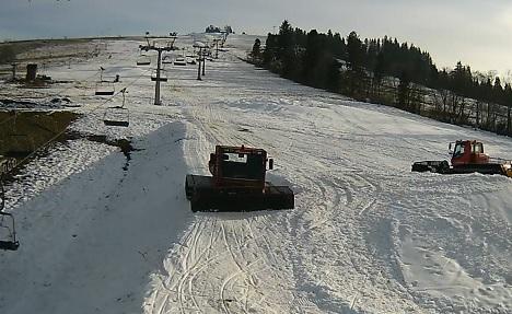 Dolna stacja narciarska - Czarna Góra