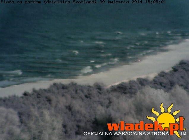 Plaża w dzielnicy Szotland - Władysławowo