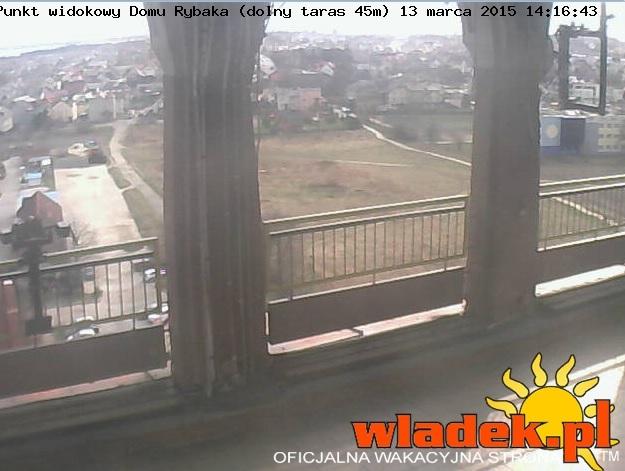 Dolny taras widokowy - Władysławowo