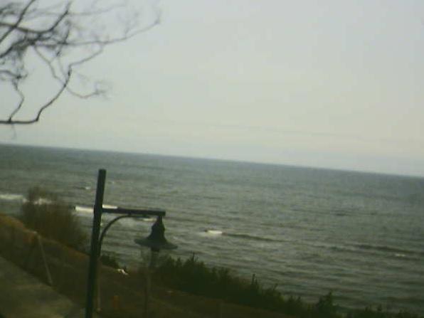 Morze z pensjonatu Victor - Jastrzębia Góra