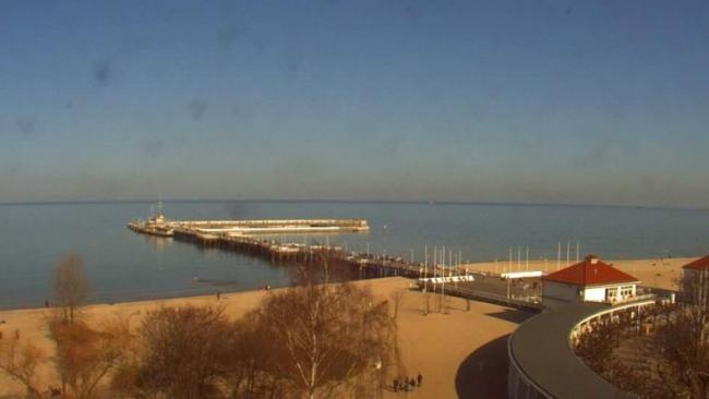 Plaża z Hotelu Sheraton - Sopot