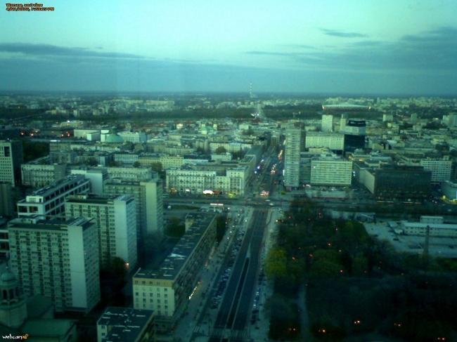 Ulica Świętokrzyska - Warszawa