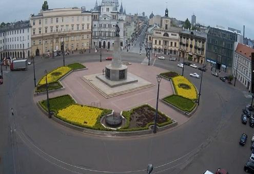 Plac Wolności - Łódź