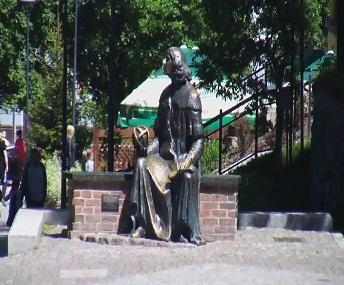 Ławeczka Kopernika - Olsztyn