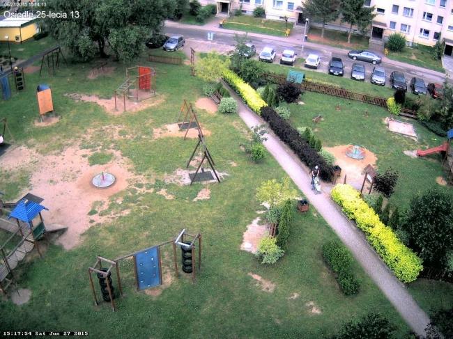Plac zabaw na osiedlu XXV-lecia 13 - Bielawa