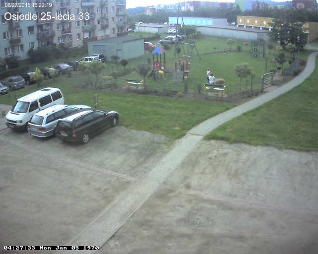 Parking na osiedlu XXV-lecia 33