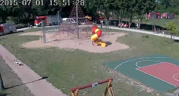 Plac zabaw w ArtParku - Bolszewo