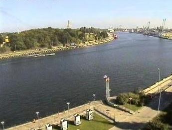 Wejście do portu - Gdańsk