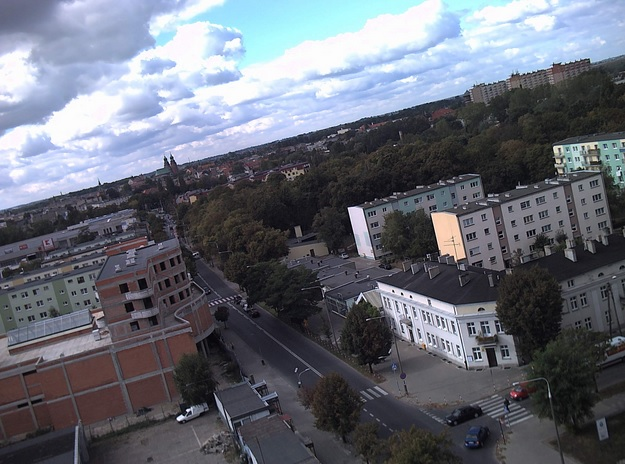 Widok na miasto - Gniezno