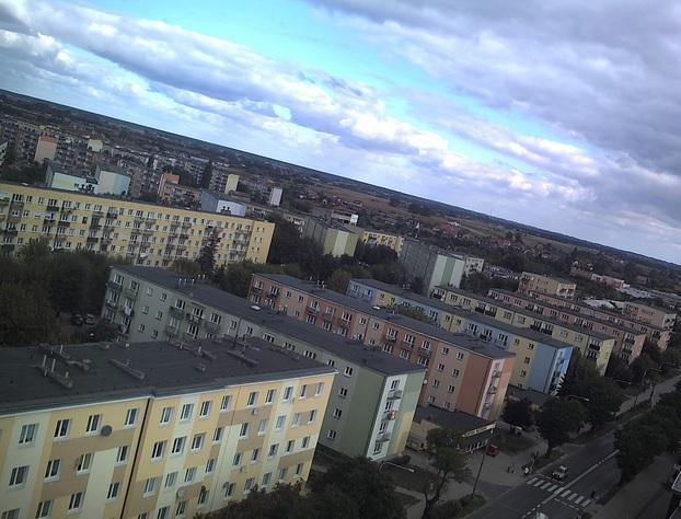 Północno-wschodnia część miasta - Gniezno