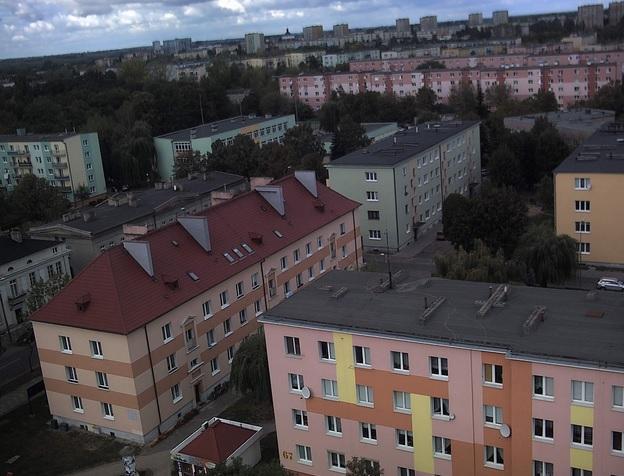 Północno-zachodnia część miasta - Gniezno