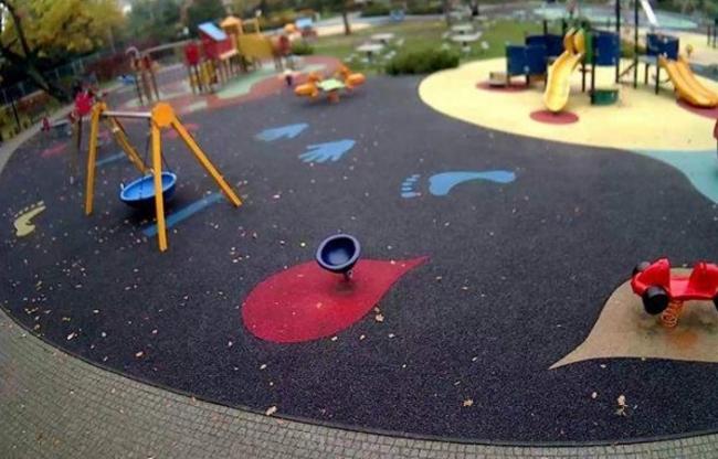 Plac zabaw - Park im. hr. Skarbków - Grodzisk Mazowiecki