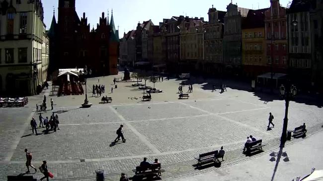 Średniowieczny Plac Targowy - Wrocław