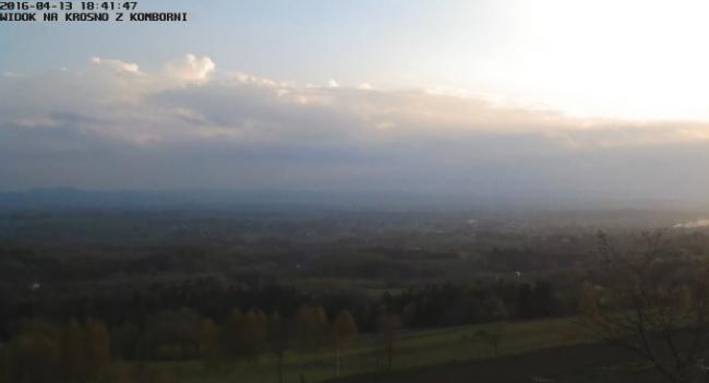 Widok na Krosno - Kombornia