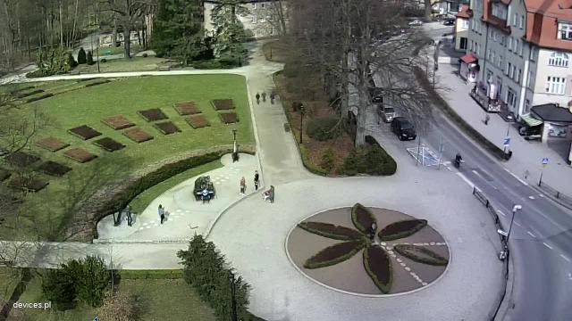 Park Zdrojowy - fontanna - Kudowa-Zdrój