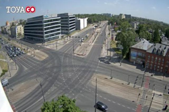 Skrzyżowanie Marszałków - Łódź