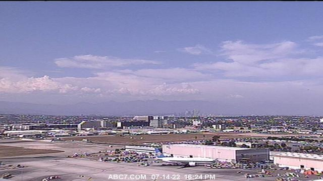 Lotnisko - pas startowy - Los Angeles