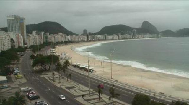 Plaża Copacabana - Rio de Janeiro