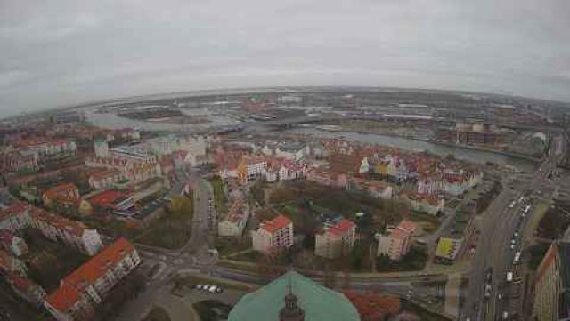 Szczecin widok z kamery online z Polski w województwie zachodniopomorskim