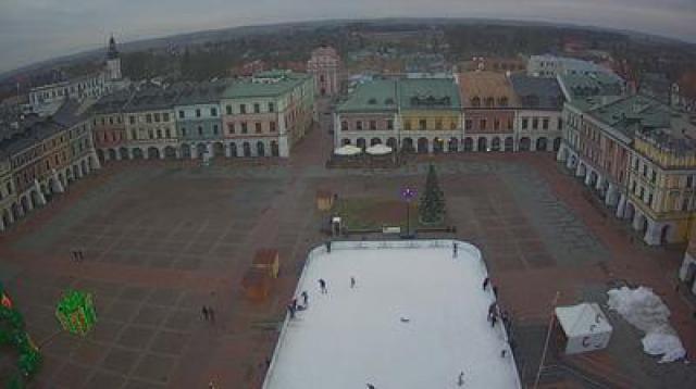 Zamość widok z kamery online z Polski w województwie lubelskim